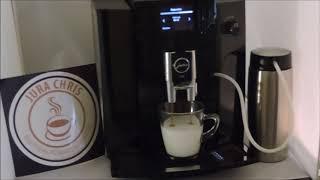 Jura E 60 Milchkaffee