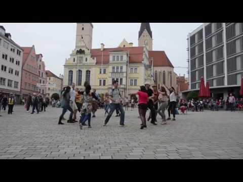 International Rueda Flash Mob Day Ingolstadt 2017