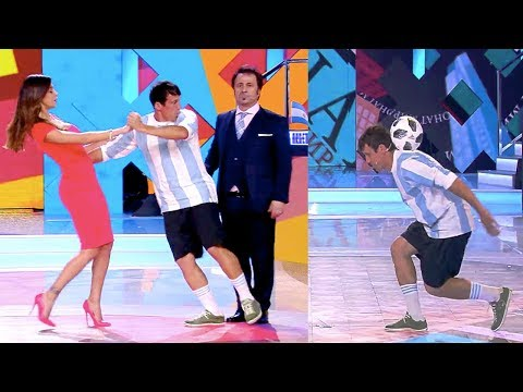 FIGURACCIA con BELEN RODRIGUEZ in Diretta TV ! FOOTWORK Italia