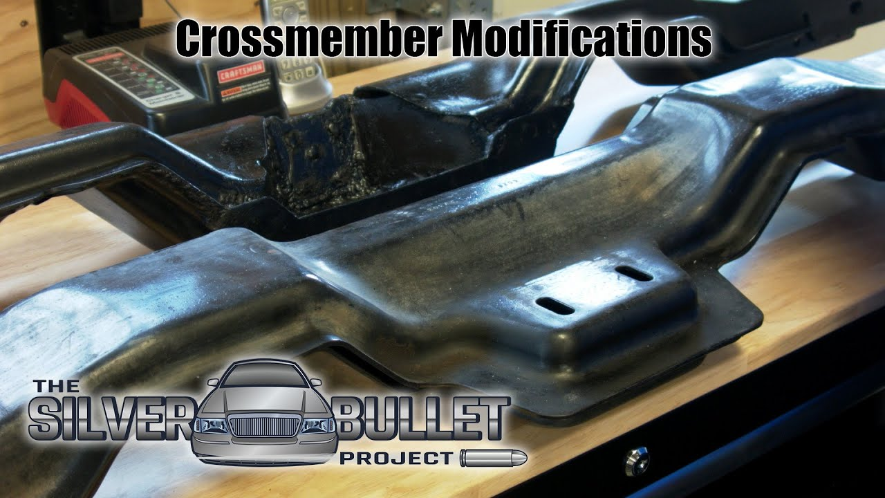 Modifying a Panther Body Crossmember to work with 6R80 or 10R80 (Silver  Bullet Part 5)