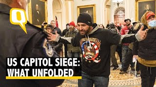 Trump Supporters Storm US Capitol, US Lawmakers and Global Leaders Condemn Attack | The Quint