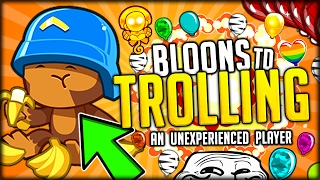 TROLLING A BRAND NEW BLOONS PLAYER!!! WHAT WILL HE DO? (Bloons TD Battles / Bloons TD 5)