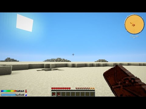 Minecraft Crash Landing #1: ĐỔ BỘ SAO HỎA!