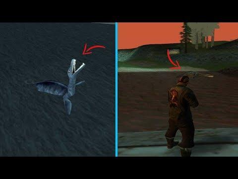 Este Es El Verdadero Monstruo Del Lago Ness! GTA San Andreas
