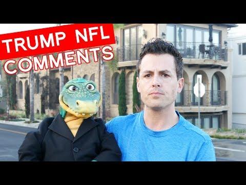Funny Idea About TRUMP VS. NFL | Comedy #TakeTheKnee
