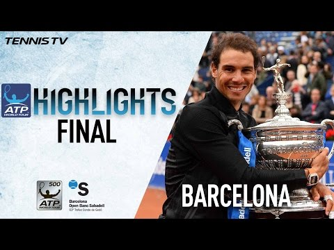 Highlights: Rafael Nadal Wins 10th Barcelona Title