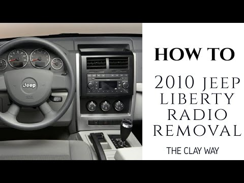 Jeep liberty radio removal/stereo removal