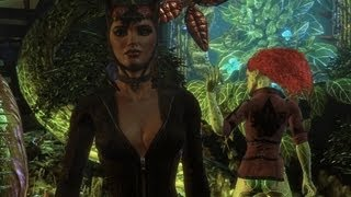 Batman Arkham City™ PC: Catwoman helping Batman, ditching Ivy