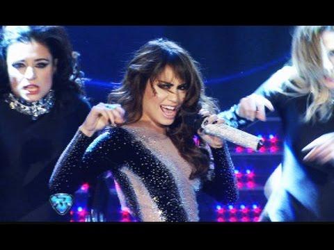 lali esposito canto, bailo y desplego su talento con un show en el que mostro sus encantos