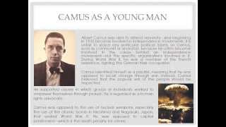 Background on Albert Camus, The Guest, and the philosophy of Existentialism