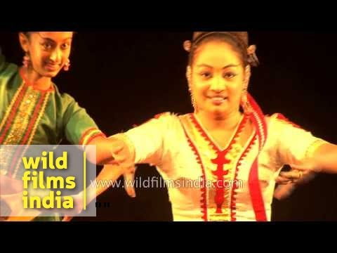 Dancers from Sri Lanka performing Sinhala folk dance
