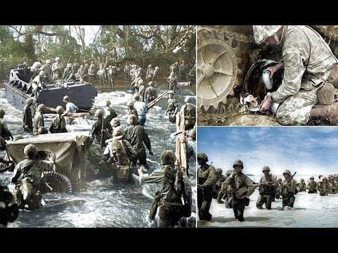 Newly released WWII images show battle the of Tarawa