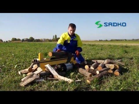 Дровокол конус колун Скиф ДМ-2200. SAD-OK.COM - YouTube