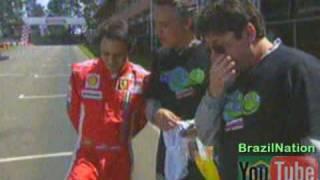 Felipe Massa no Casseta e Planeta