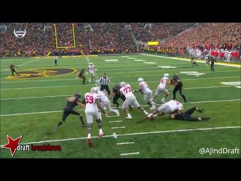 Joshua Jackson (Iowa CB) vs Ohio State - 2017