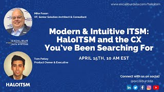 Modern & Intuitive ITSM: HaloITSM and the CX You've Been Searching For