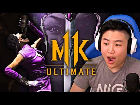Mortal Kombat 11 Ultimate - Meet Mileena Trailer ft. Johnny Cage!! [REACTION]  