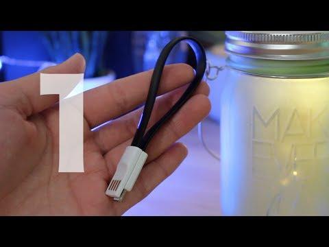 Cable Magnétique - 1 - Dans cette vidéo, je vous présente le premier cable de chez iProteck, celui magnétique.