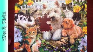 Ravensburger Puzzle - Children's Puzzle - Original 300 pieces - Happy Animals