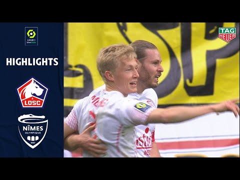 Lille Nimes Goals And Highlights