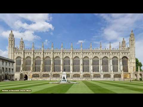 """Choirs & Places Where they Sing"" 3: King's College Cambridge 1967 (David Willcocks)"