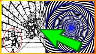 11 Optiske Illusioner Der Snyder Din Hjerne!