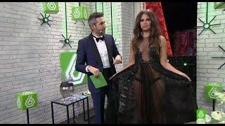 """Campanadas laSexta 2014   Cristina Pedroche: """"¿Tú crees que llevo algo rojo?"""""""