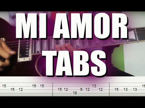 Guitar lesson: Mi amor-Dj Ashba (TABS) | Freaking Picking