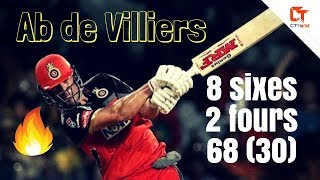 ab de villiers best innings ever