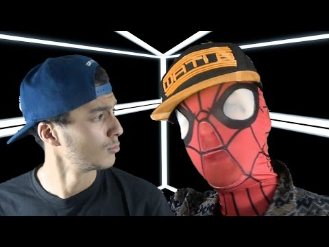 SPIDERMAN Feat Kev Adams CLASH LES AVENGERS (Parodie Black M - ALADIN)