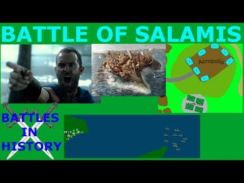 The Battle Of Salamis (480 BCE)