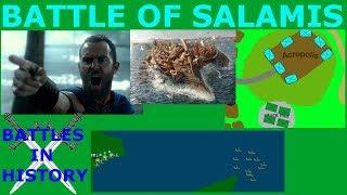The Battle of Salamis (480 BCE) thumbnail
