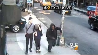 CBS2 Exclusive: Hammer Attack Caught On Video