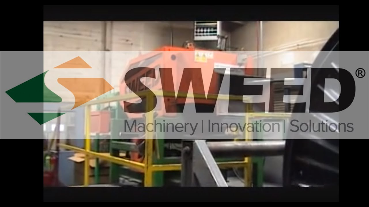 Sweed 5703 ACSR Scrap Wire Cable Chopper Line Recycling - YouTube