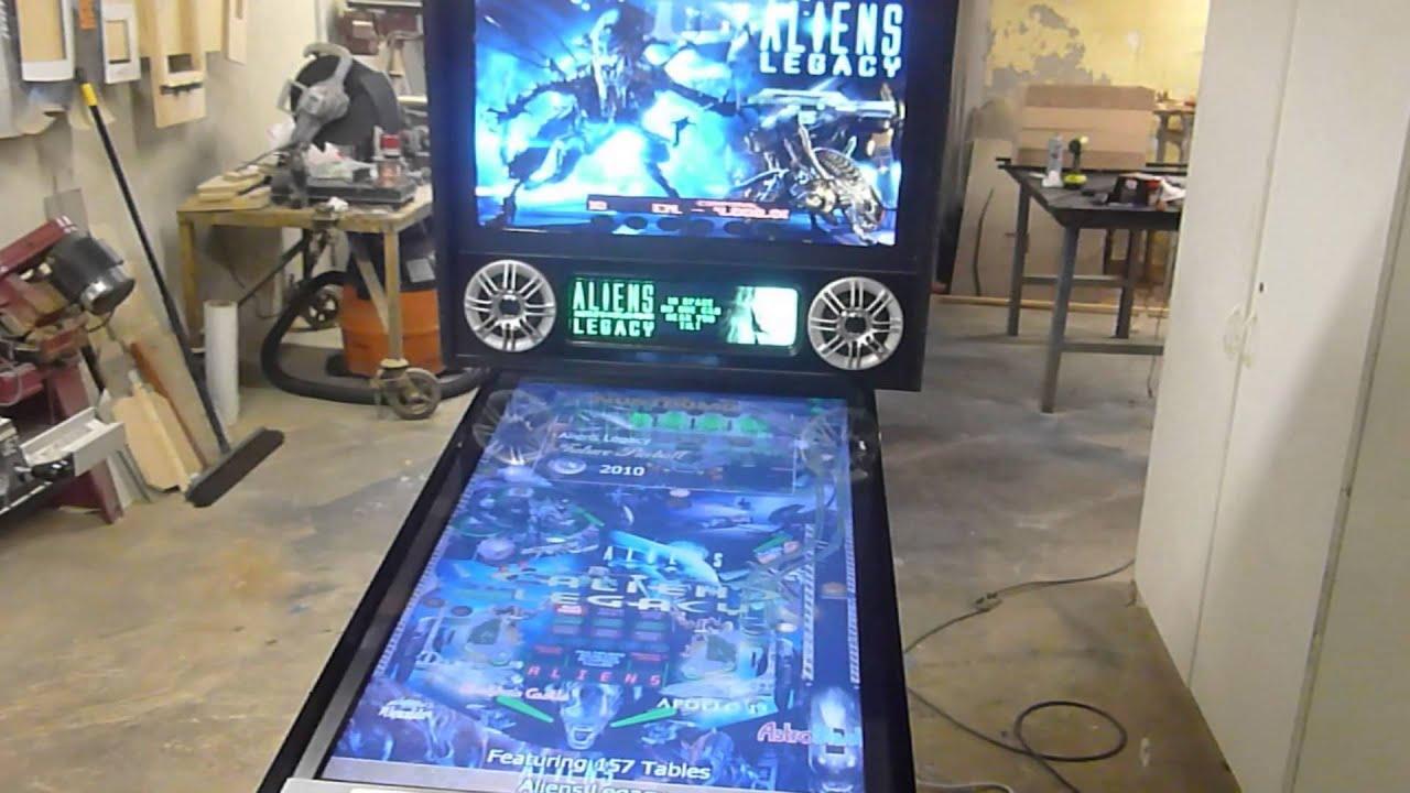 Virtual Pinball Cabinet - YouTube