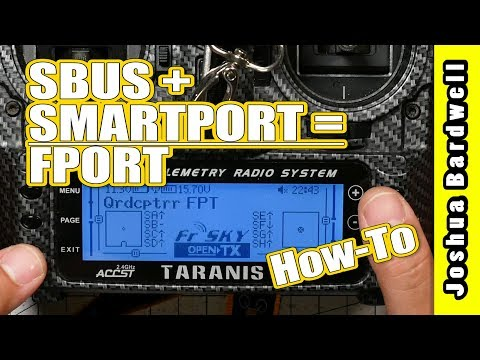 FRSKY FPORT HOW TO | SBUS and SmartPort on One Wire