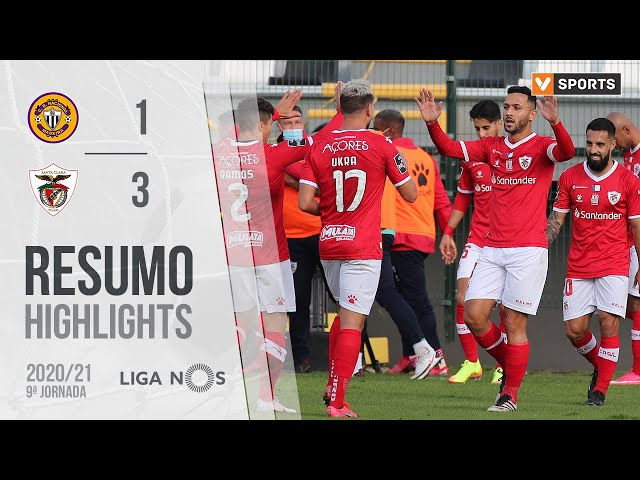 Highlights | Resumo: CD Nacional 1-3 Santa Clara (Liga 20/21 #9)