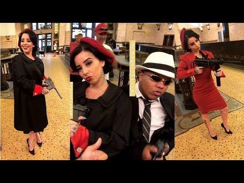 MC Magal - Casal Bonnie E Clyde | Gravação De Vídeo Clip | (GR6 Filmes) DJ Russo