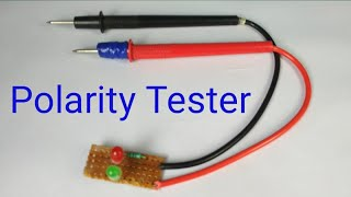 Simple polarity tester