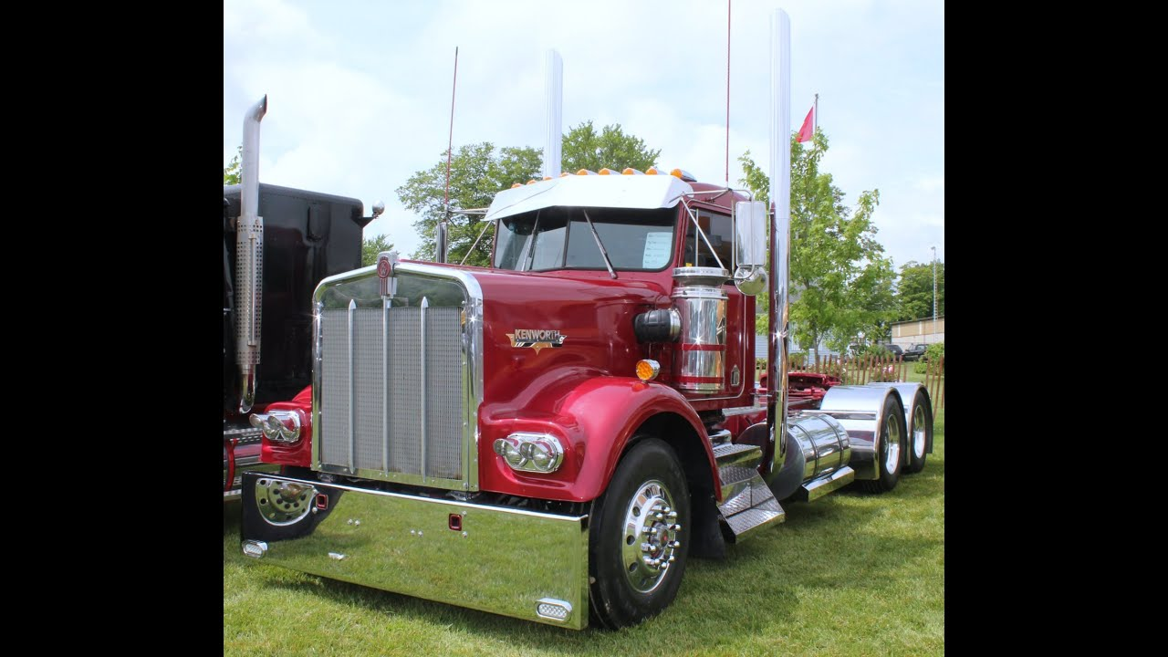 Kenworth W900A: Old Classic Semi Trucks - YouTube