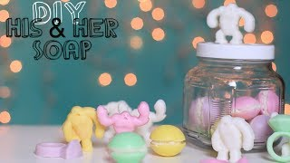 DIY Soap Gift Ideas Macaron, Abominable Snowman & Rings