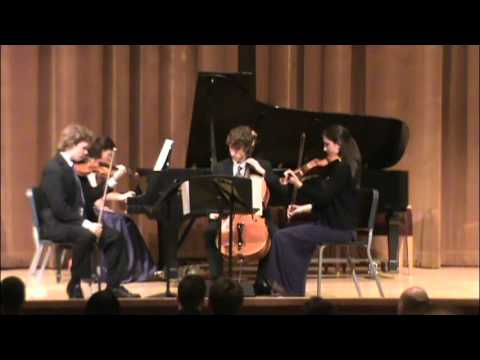 Quattuor Aliquet from the Cleveland Institute of Music