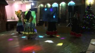 Коллектив цыганского танца
