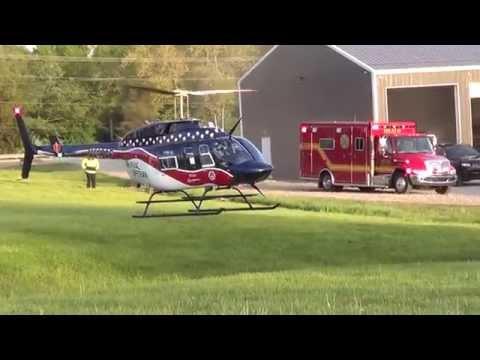 5-13-2015 Air Evac Lifeteam 107 Aborts landing