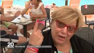 ville d'Agadir -?????? - première station balnéaire du Maroc - France 2