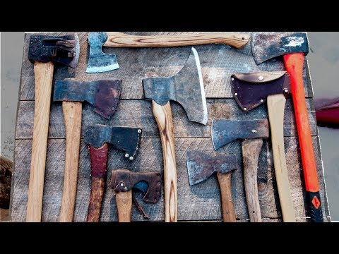 My Top 3 Axes for Bushcraft and Building a Log Cabin
