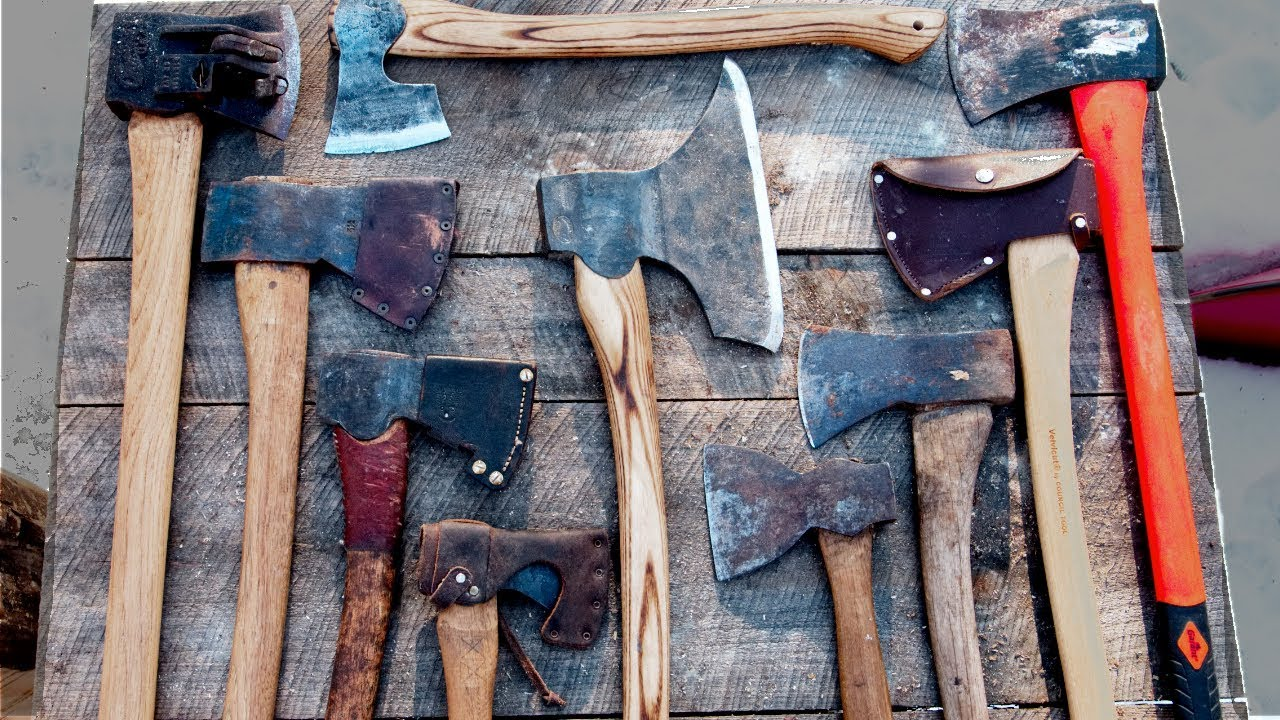 Download My Top 3 Axes for Bushcraft and Building a Log Cabin