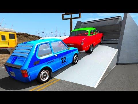 Старые Автомобили и 3 Махины - Крутые Тесты машин| Мультик игра про машинки - Видео онлайн