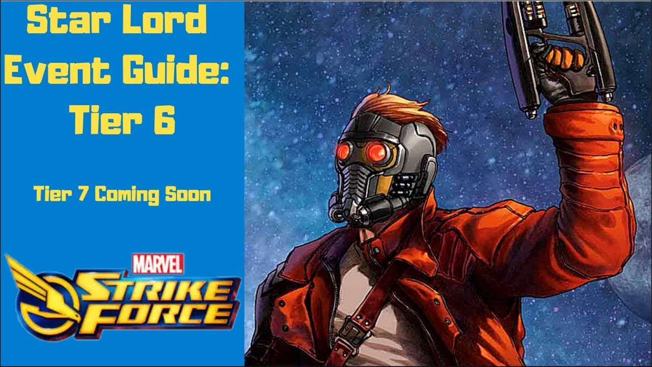 Star Lord Legendary Event Guide Pt 2 | Marvel Strike Force | MSF