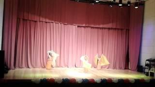 """ШВТ""""Зейнаб"""". Дети. Танец с шалью. Конкурс """"Oriental Fest""""-III. 4 место."""